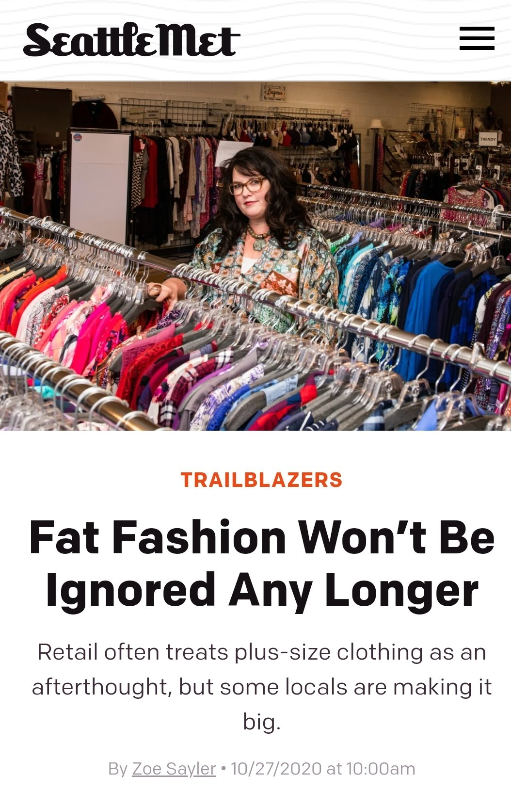 Fat Fashion Won't Be Ignored Any Longer