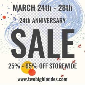 24th Anniversary Sale