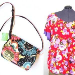 spring floral prints clothing accessories